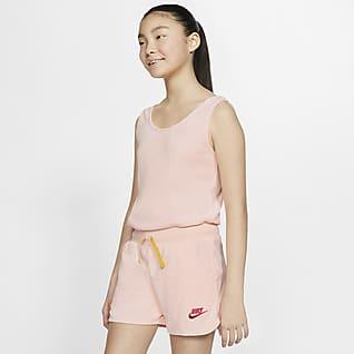 Nike Sportswear Heritage Genç Çocuk (Kız) Kısa Tulumu