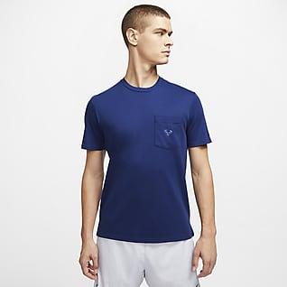 Rafa Męska koszulka z krótkim rękawem do tenisa