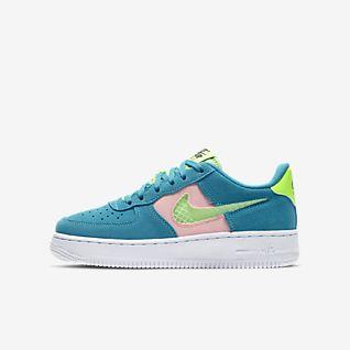 nike air force one verde fosforescente