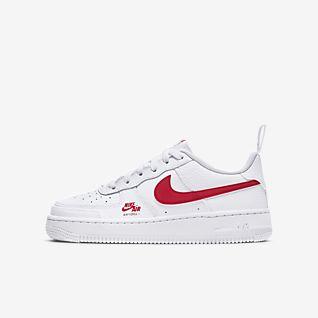 Girls' Air Force 1 Shoes. Nike GB