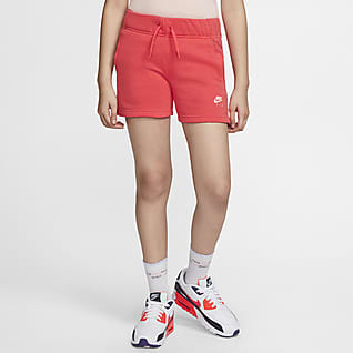 Nike Air Shorts til store barn (jente)