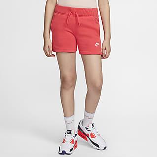 Nike Air Shorts para niña talla grande