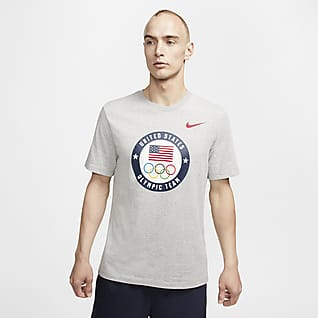 Nike Team USA Playera de entrenamiento para hombre