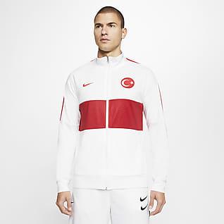 Turkey Men's Football Tracksuit Jacket