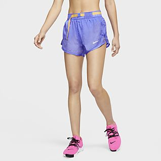 nike shorts women bue
