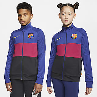 FC Barcelona Fußball-Track-Jacket für ältere Kinder