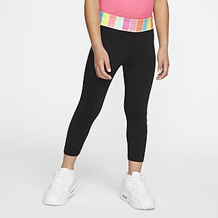 Nike Dri-FIT Younger Kids' 3/4 Leggings
