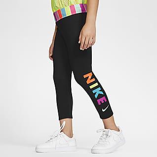 Nike Dri-FIT Little Kids' 3/4 Leggings
