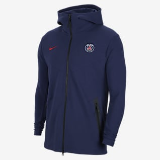 Paris Saint-Germain Tech Pack Sweat à capuche et zip pour Homme
