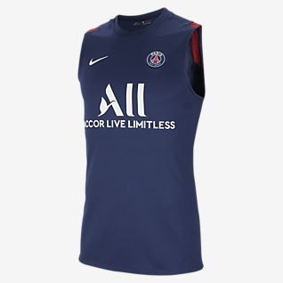París Saint-Germain Strike Samarreta de futbol sense mànigues - Home