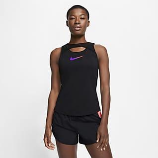 Nike Женская беговая майка