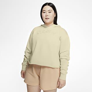 Nike Sportswear Hoodie pullover para mulher (tamanhos grandes)