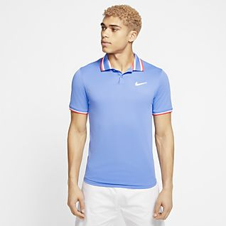 NikeCourt Slam Men's Tennis Polo