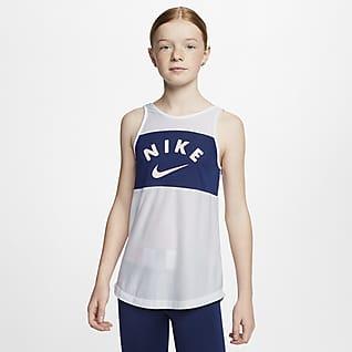 Nike Træningstanktop til store børn (piger)