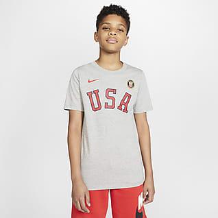 Nike Sportswear Team USA Playera para niño talla grande