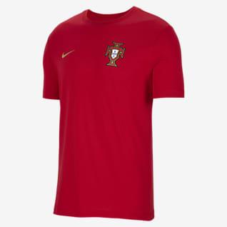 Portugal Fotbolls-t-shirt med grafik för män