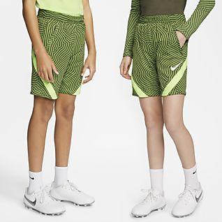 Nike Dri-FIT Strike Fotbalové kraťasy pro větší děti