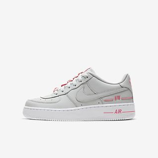 Colorful Lv8 Air Force 1 Boy Shoes Nike Blue Nike Junior