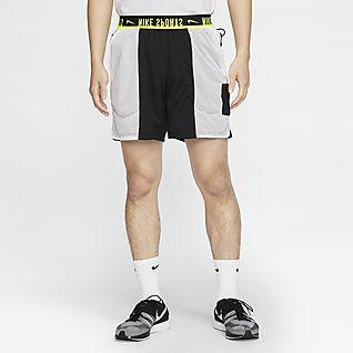 Nike กางเกงเทรนนิ่งขาสั้นผู้ชายใส่ได้ 2 ด้าน