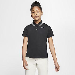 Nike Dri-FIT Victory Polo de golf para niña