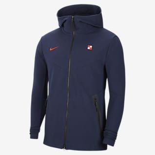 Croazia Tech Pack Felpa con cappuccio e zip a tutta lunghezza - Uomo