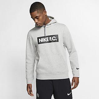 Nike F.C. Sweat à capuche de football en tissu Fleece pour Homme