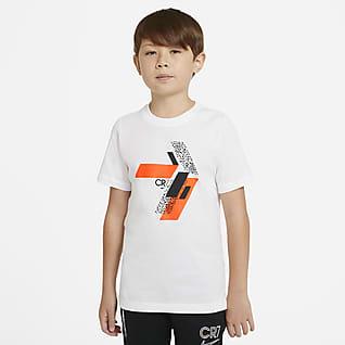CR7 Playera de fútbol para niños talla grande