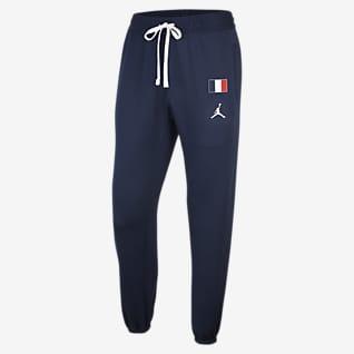 Frankreich Jordan Therma Flex Showtime Herren-Basketballhose