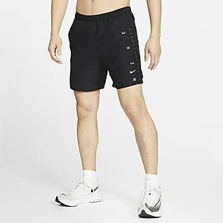 Nike Challenger Calções de running com slips de 18 cm para homem