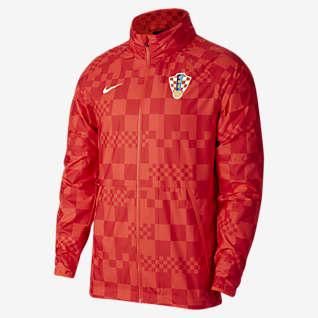 Croatia Men's Water-Repellent Football Jacket