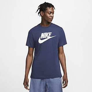navy nike shirt