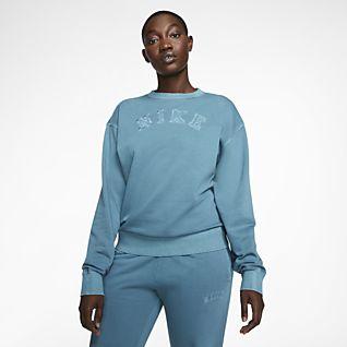 Women's Blue Hoodies & Sweatshirts. Nike NZ
