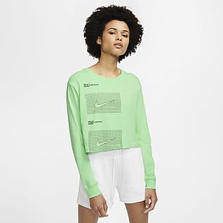 Nike Sportswear House of Innovation (Paris) Women's Long-Sleeve Crop T-Shirt