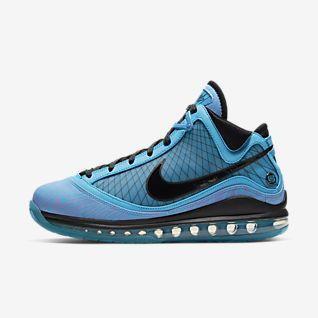 Blue LeBron James Shoes. Nike CH