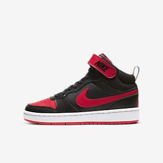 Nike Court Borough Mid 2 (GS) 大童运动童鞋