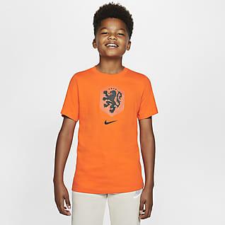 Netherlands Older Kids' Football T-Shirt
