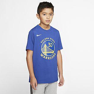 Stephen Curry Warriors City Edition Nike Dri-FIT NBA-s póló nagyobb gyerekeknek