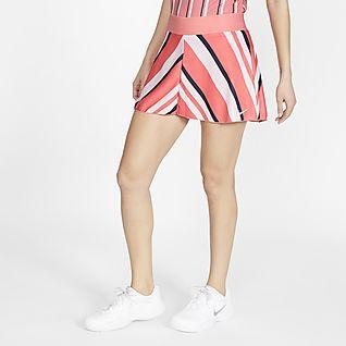 NikeCourt Dri-FIT Γυναικεία εμπριμέ φούστα τένις