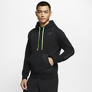 Nike Club Fleece Běžecká mikina skapucí