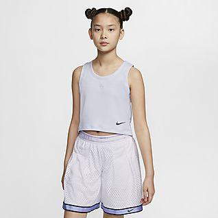 Nike Sportswear Tech Pack Big Kids' (Girls') Sleeveless Top
