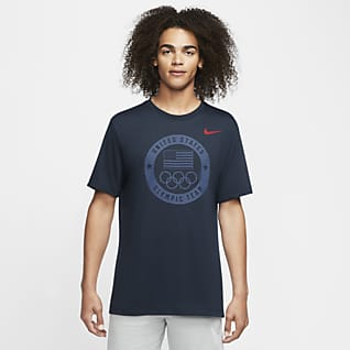 Nike Dri-FIT Team USA Playera de entrenamiento para hombre