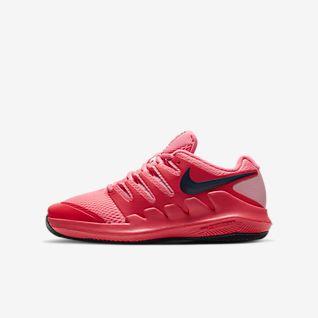 NikeCourt Jr. Vapor X Παπούτσι τένις για μικρά/μεγάλα παιδιά