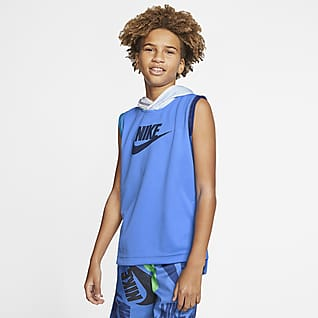 Nike Sportswear Prenda para la parte superior sin mangas para niño talla grande
