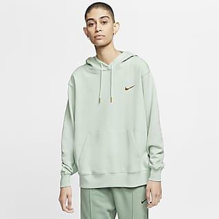 Nike Sportswear Felpa pullover con cappuccio e Swoosh - Donna