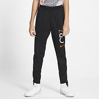 Nike Dri-FIT CR7 Pantalones de fútbol para niños talla grande