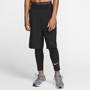 Nike Pro กางเกงรัดรูปเด็กโต (ชาย)