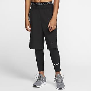 Nike Pro Tights til store børn (drenge)