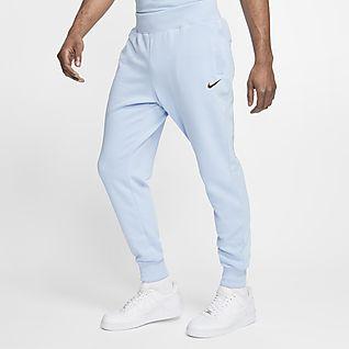 nike pantaloni jogger gialli
