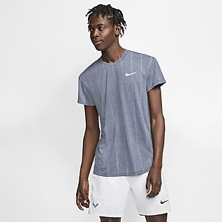 NikeCourt Challenger Ανδρική μπλούζα τένις