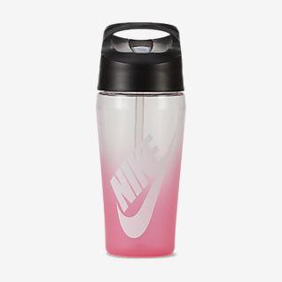 Nike TR HyperCharge Straw (ca. 473 ml) Wasserflasche mit Grafik